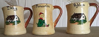 Manor Ware Jugs Souvenir Morcambe Aylsham Ilkley Collectables