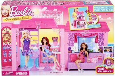 Barbie Glam Vacation House X7945 -  Brand New - Fast Postage
