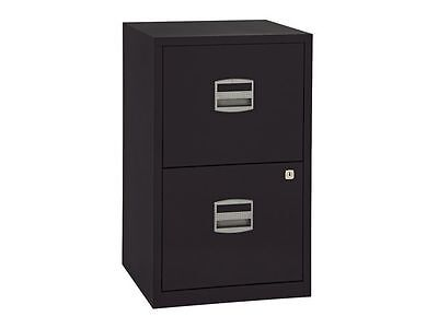 """Bisley Filing Cabinet """"black"""" A4 2 Drawer - Brand New + 24 Hour Free Delivery"""