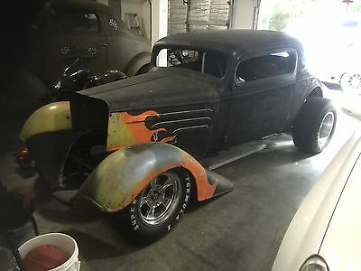 1934 Chevrolet 3 Window Coupe Standard 34' Chopped 3-Window Coupe