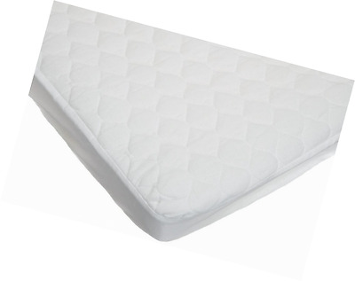 "Baby Quilted Fitted Waterproof Fitted Cradle Mattress Pad Cover, 18"" X 36"" X 4"""