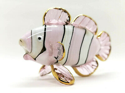 Chuppy Owl Hand Blown Blowing Glass Art Animal Fancy Collectibles