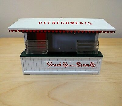 Vintage Tri-ang Scalextric Refreshment Stand/Kiosk Seven-Up A228 For Restoration
