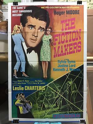 The Fiction-Makers (1968) Thai Movie Poster Art Painting Original Roger Moore