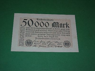Germany 50,000 Mark 1923 Unc P 99