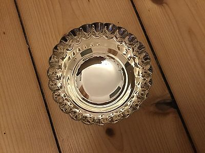 ANTIQUE SOLID STERLING SILVER BOWL HULTON & Co LONDON HALLMARKED 1897