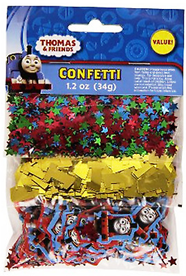 THOMAS THE TRAIN Confetti Kids Birthday Party Supplies Table Decorations