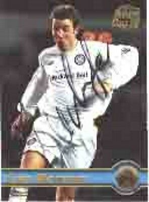 Lee Bowyer - Leeds - Signed Trading Card - COA (3726)