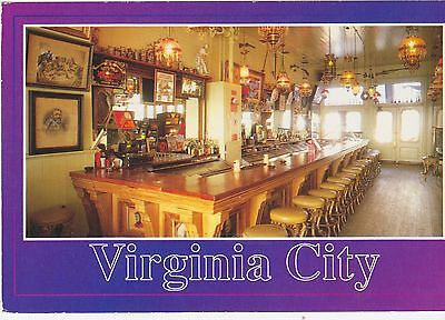 The Bucket of Blood Saloon, Viginia City, Nevada. Travel Series, 1996 Postcard