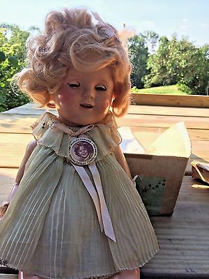 RARE Original 1930's Shirley Temple Toy Doll  Ideal in Original Box & Wrappings