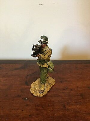 KING AND COUNTRY WW2 DD076 - Combat Photographer (Retired)