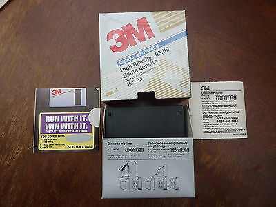 3M Boxed 3.5' 1.44Mb Floppy Disks X 10, New!