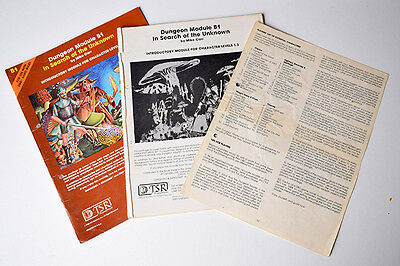 AD&D MODULE: In Search of the Unknown