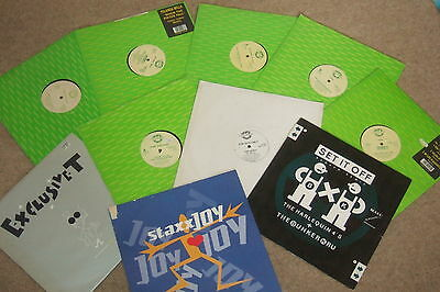 """10 x 12""""  Champion Records Collection          OLD SKOOL!!!"""
