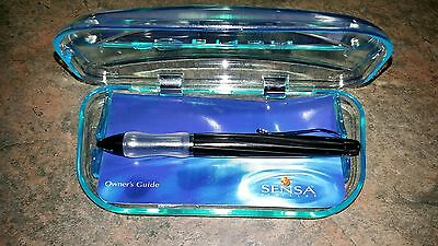 New SENSA Stylist Collection Ballpoint Ball Point Pen Midnight Black