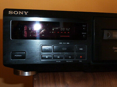 Sony TC-KE400S Cassette Deck Two Motor Dolby S HX-Pro Ceramic Cradle ONE ONLY!