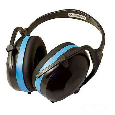 Silverline Ear Defenders Folding SNR 30dB Protection Safety Workwear - 633816