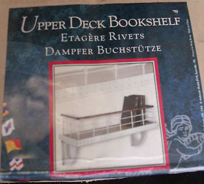 Authentic Models Upper Deck Bookshelf Titanic