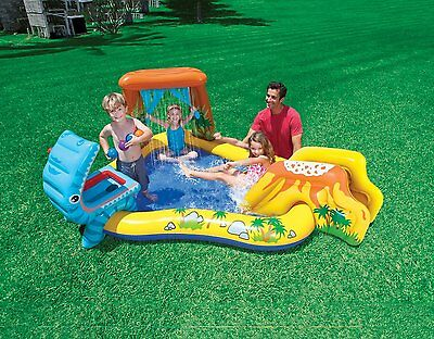 Play Pool Kids Outdoor Center Garden patio Water Sprayer Children Inflatable Toy