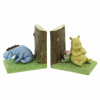 Set of 2 Winne The Pooh Bookends - Disney Classic Collection - Eeyore Piglet