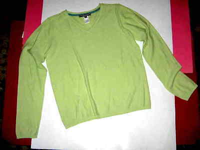 Bonpoint Mint Green V Neck L/s Pullover Sz. 10Yr
