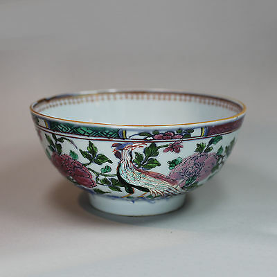 Antique Chinese porcelain English-decorated bowl, early 18th century