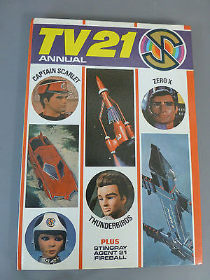 Excellent Tv21 Annual 1968 Captain Scarlet,thunderbirds,stingray,zero X,fireball