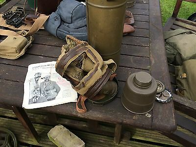 WWII French Gas Mask