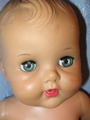 """1950""""s SUN RUBBER  CONSTANCE BANNISTER  BABY DOLL For Repair"""