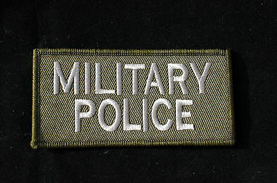 British Army - Subdued Military Police Sew On Pocket Patch -  No533