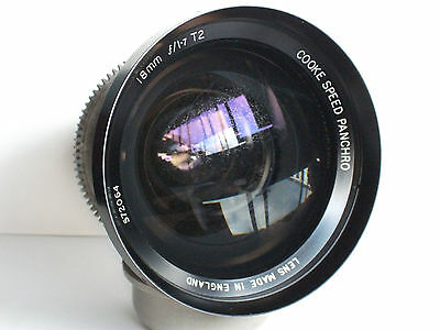 Cooke Speed Panchro 18mm F1.7 T 2 Cine Lens in Mitchell Mount
