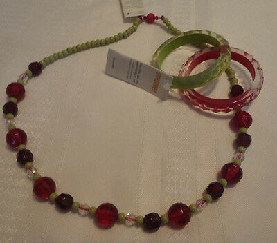 Gymboree Berry Patch Necklace Bracelet NWT Jewelry 3T 4T 5T Size 6 7 8 9