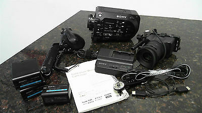 Sony PXW-FS7 4K XDCAM Super35 Camcorder w Viewfinder and Grip - 606 Hours