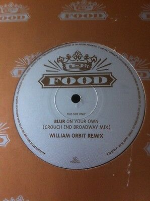 Blur-On Your Own-(Crouch End Broadway Mix)-William Orbit Remix-Uk Food  Promo