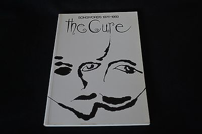 The Cure Songwords 1978 - 1989  Soft Bound Book Omnibus Press Robert Smith