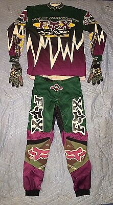 vintage fox racing 360 gear Doug Henry