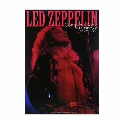 "LED Zeppelin Photo Book, ""Complete Book"", Japan,2008, Very Good very rare"