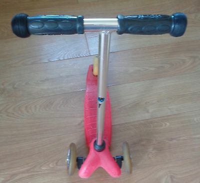 Mini Micro Scooter Pink Girls Excellent Condition - USED
