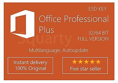 LICENZA/LICENSE MICROSOFT Office Professional Plus 2016 Special Price