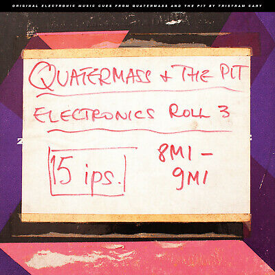 "Quatermass and the Pit Electronic Cues 10"" vinyl - Tristram Cary"