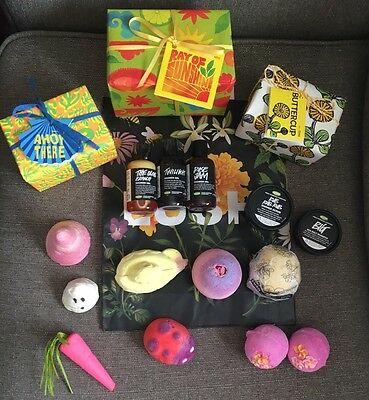 Lush Bath Collection All New Fresh X 17 Including Gift Sets / Discontinued