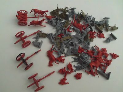 Airfix Vintage Ho/oo Scale Ww1 Collection Horse Artillery,french + U.s.infantry