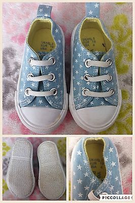 Baby Child Girls Shoes Trainers Infant Size 3