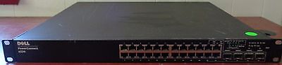 Used Dell Powerconnect 6224 24-Port PoE Ethernet Switch