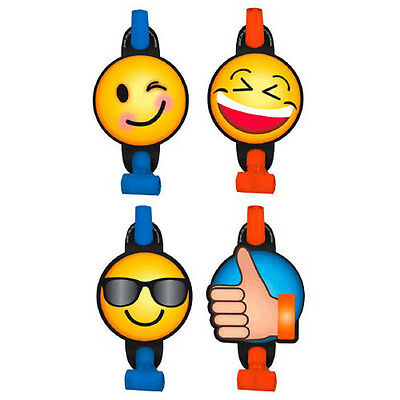 EMOJI LOL BLOWOUTS 8 Birthday Party Supplies Favors IPhone Android Paper