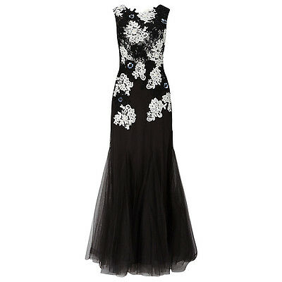 "Stunning Phase Eight Maxi Dress Was £350........... Size 16"" Black Tie, Cruise"