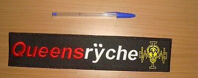 QUEENSRYCHE - LARGE LOGO Embroidered BACK PATCH Operation Mindcrime