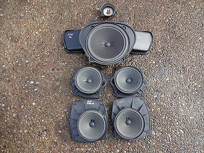 2006 Mercedes W221 S class set of speakers
