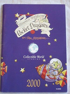 Pocket Dragon * 2000 CATALOGUE / NEWS * 63 PAGES MINT CONDITION