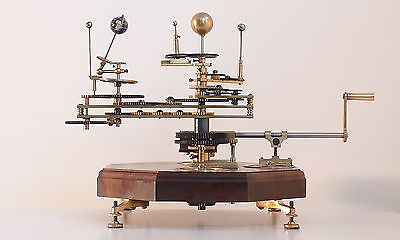 Mechanical Orrery Planetarium Tellurian Staines London 2014 Steampunk Victorian